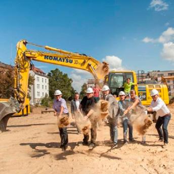 """Baubeginn für Inklusionsprojekt """"Buntes Wohnen Heilbronn"""""""