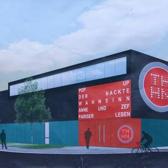 Grundsteinlegung für neues Theater-Probenzentrum