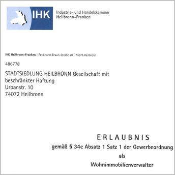 """<img src=""""/wp-content/uploads/2019/09/Stadtsiedlung_Icon_Pressebericht_Zeitung_PDF.svg"""" />  <p>IHK-zertifiziert als Wohnimmoblienverwalter</p>"""