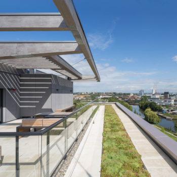 <p>Deutscher Nachhaltigkeitspreis Architektur: 'SKAIO' <br>ist nominiert</p>