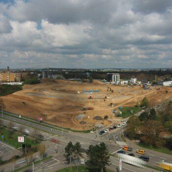 Baustart für das neue Stadtquartier 'Hochgelegen'